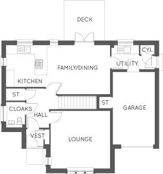 The Cleland, Floor 1