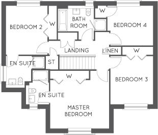 The Cleland, Floor 2