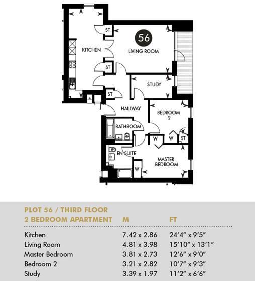 Plot 56 - The Princes Building, Third Floor