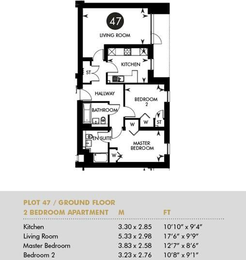 Plot 47 - The Princes Building, Ground Floor