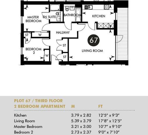 Plot 67 - The Princes Building, Third Floor