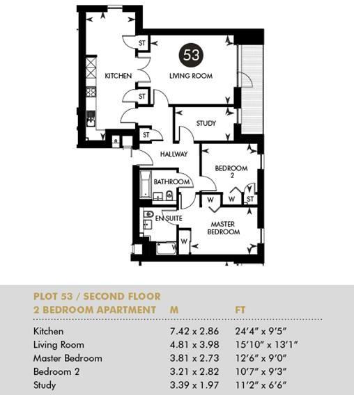 Plot 53 - The Princes Building, Third Floor