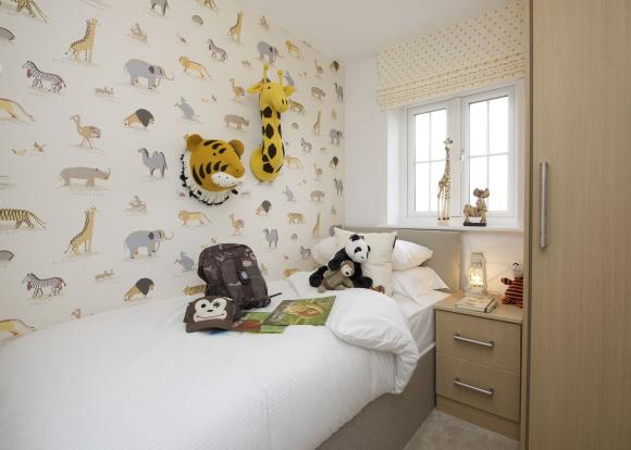 Typical Thame fourth bedroom