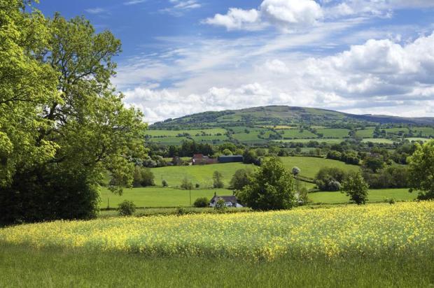 Beautiful Shropshire countryside