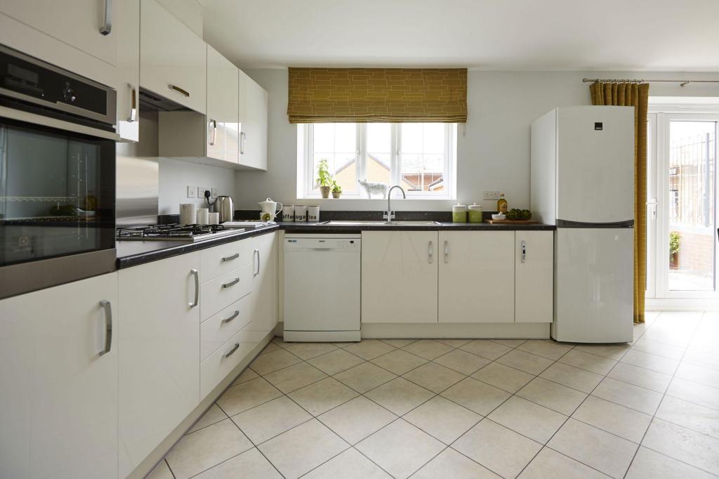 Honeysuckle Grange Chesham show home fitted kitchen