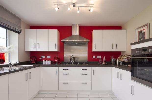 Typical Kennington fitted kitchen