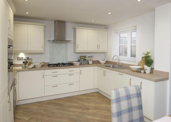 Typical Kennington fitted kitchen