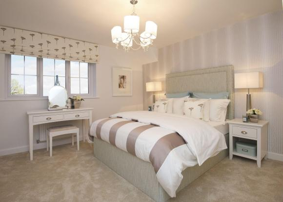 Typical Kennington master bedroom