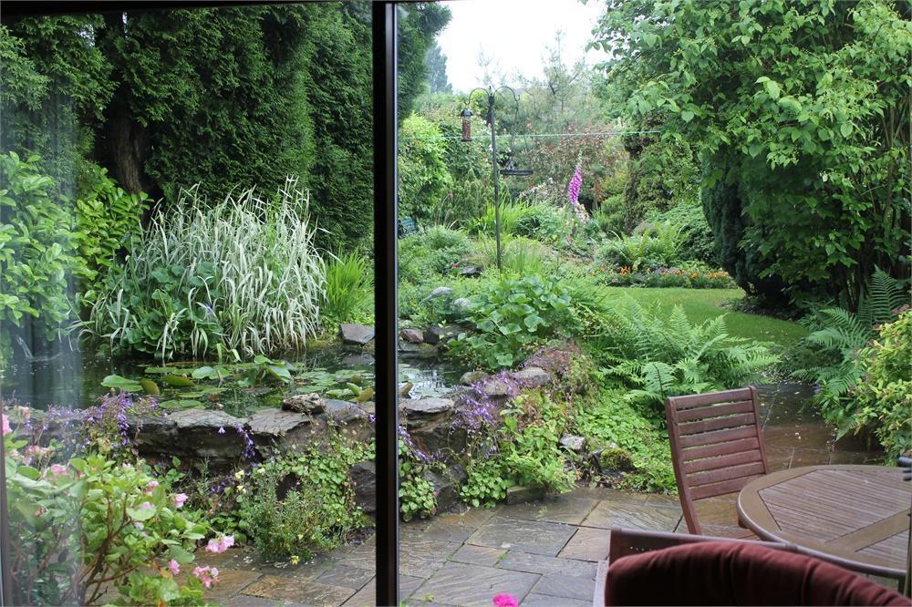 Garden View Through