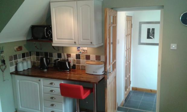 Kitchen into utility