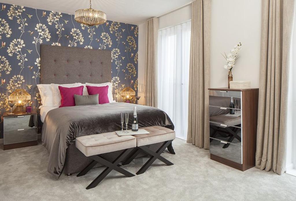 Trinity Square Show Home Bedroom