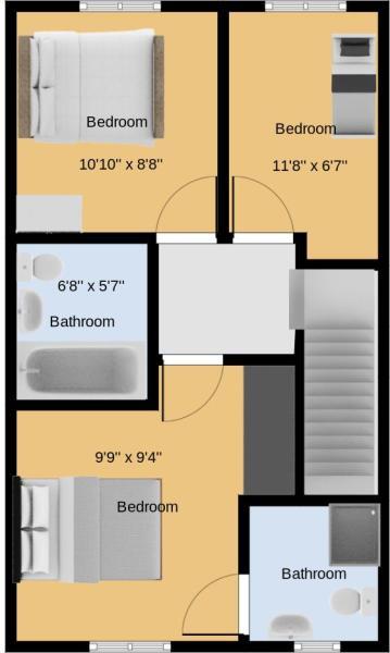 2D First floor