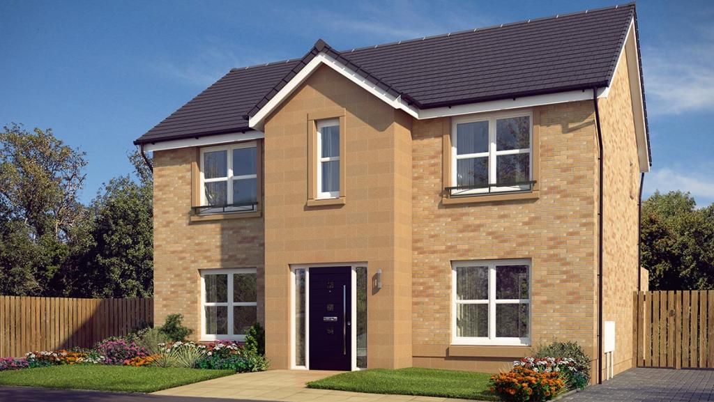 4 bedroom detached house for sale in glasgow road denny