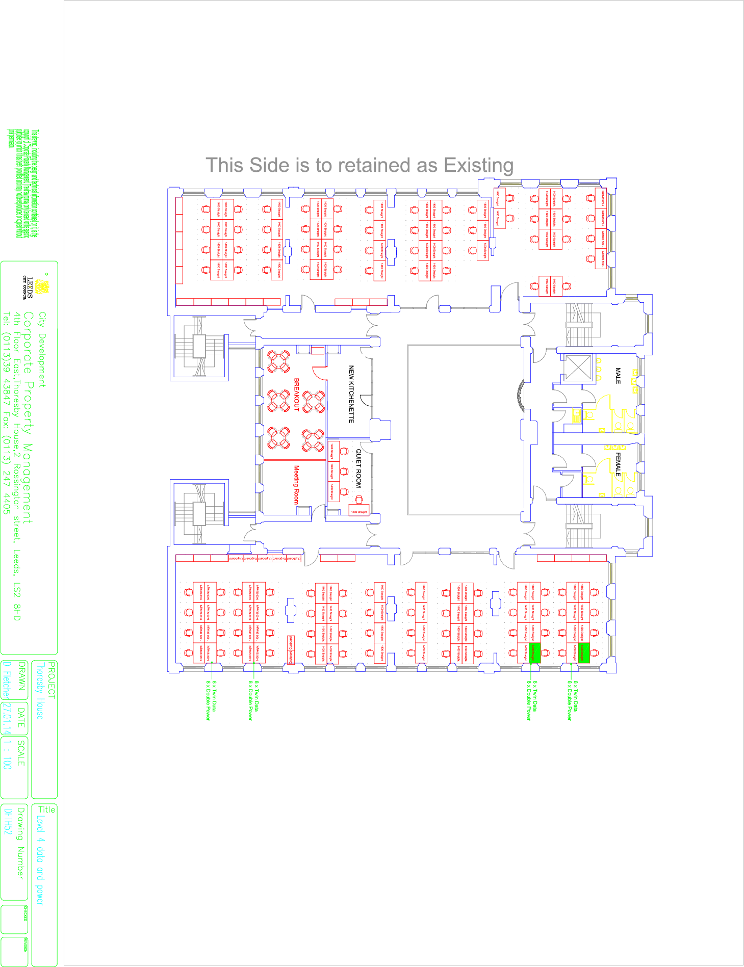 Thoresby Floor Plans