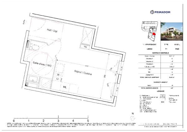 Detailed floorplan
