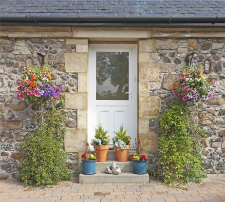 Door/Flowers