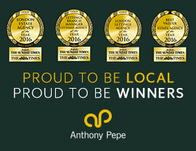 Get brand editions for Anthony Pepe Estate Agents, Highbury