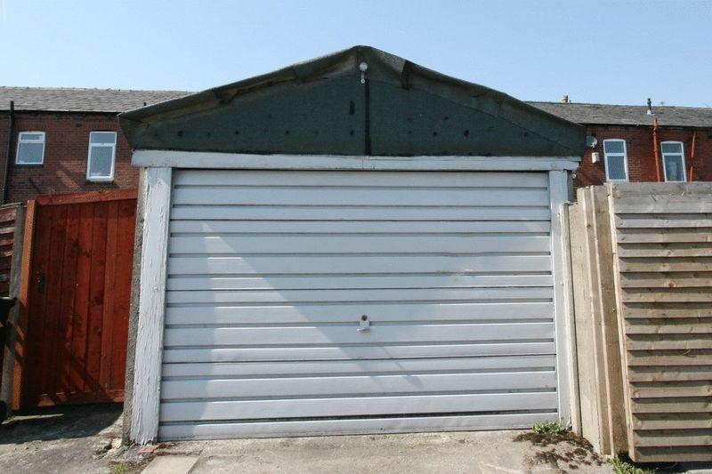 Rear Garage