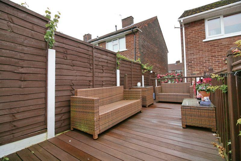 Decked Patio