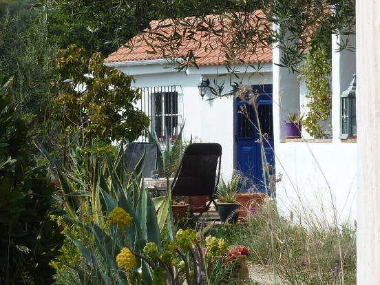 Casita from house