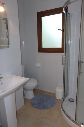 Guest annexe shower