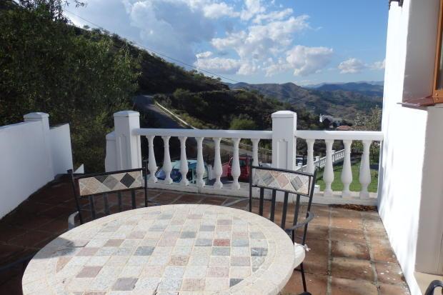 Guest annexe terrace