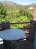 Balcony over garden