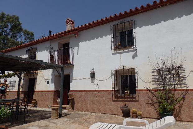 Main house terrace