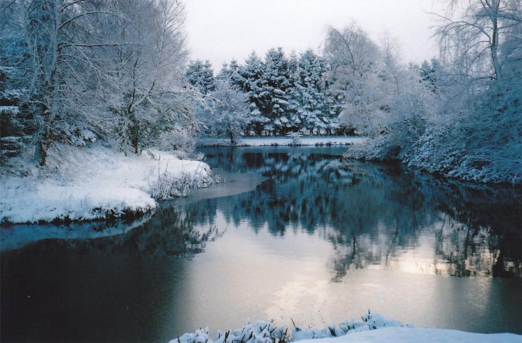 Fishing Lake Winter
