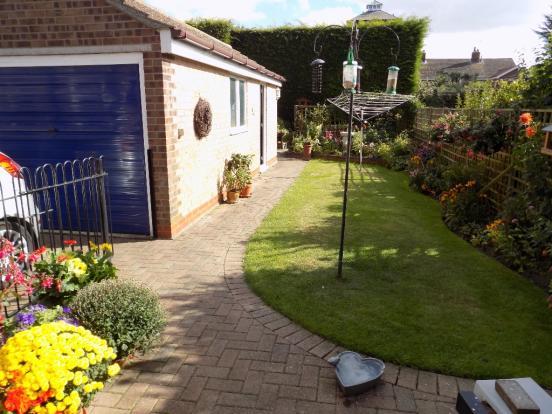 Rear Garden/Garage