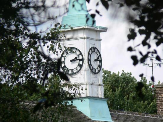 Ransom Hall clock
