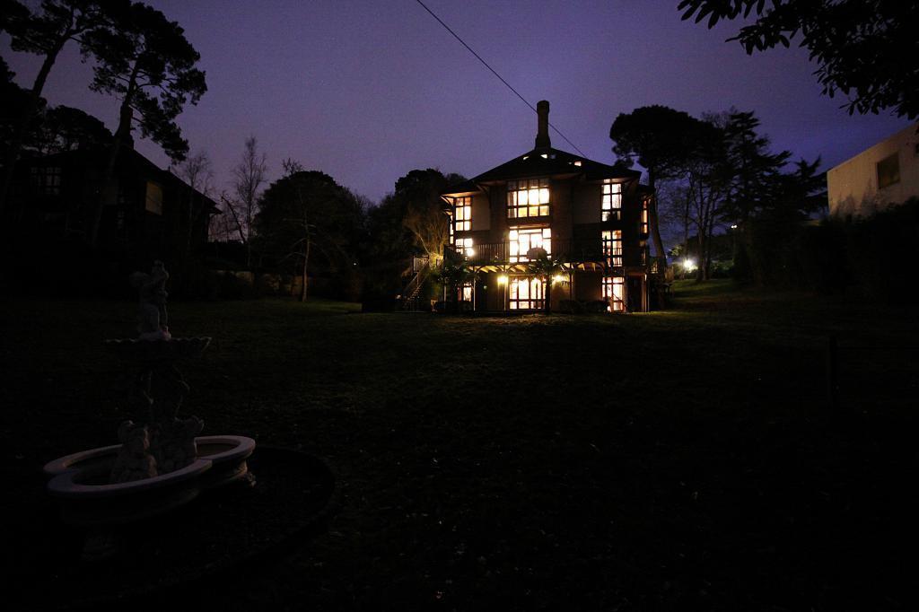 Rear of Property at dusk