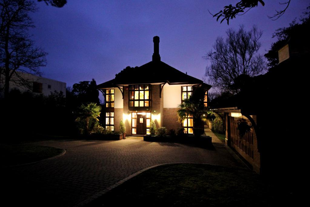 Front of Property at Dusk