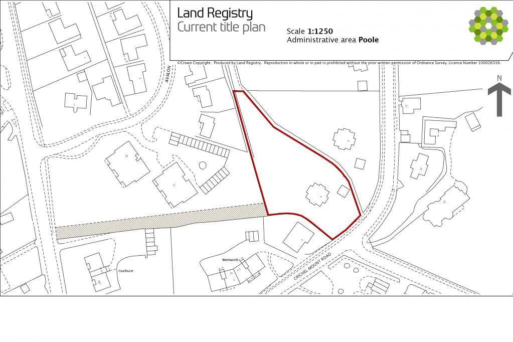 Land Registry Plot Plan