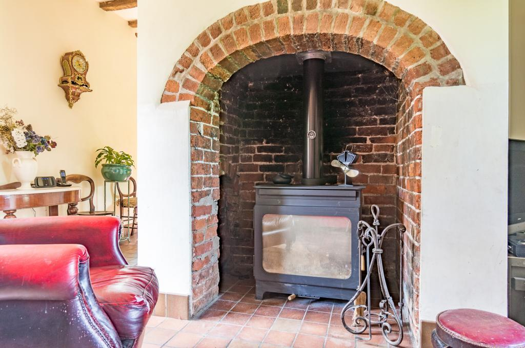 Reception Hall Fireplace