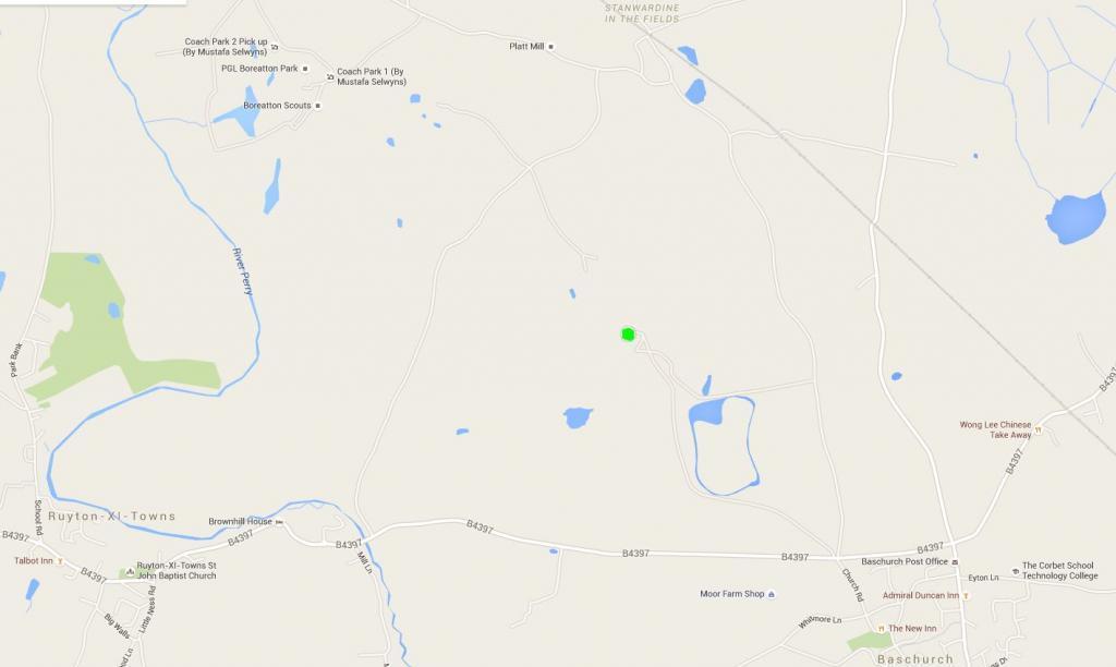 Map / Location of Boreatton
