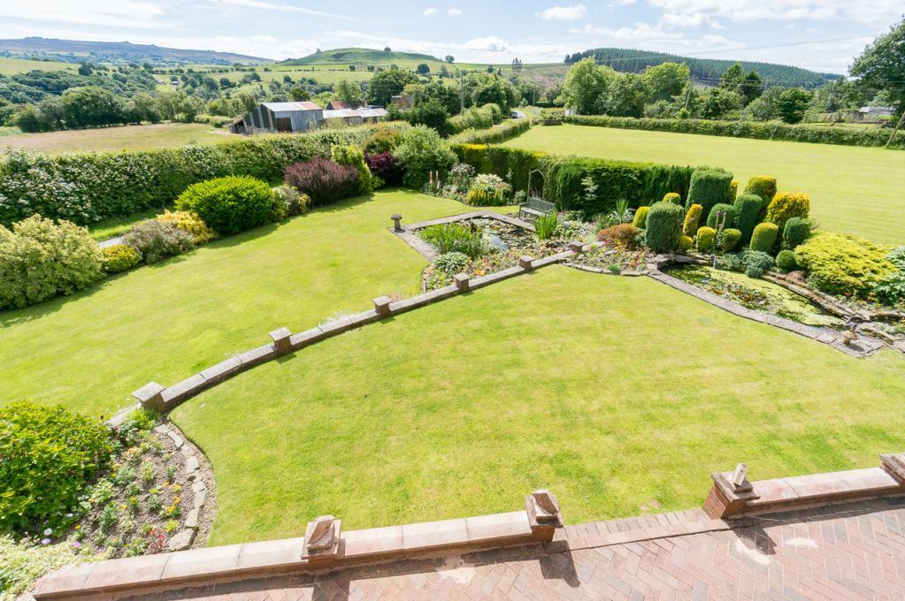 View of Garden from Bedroom