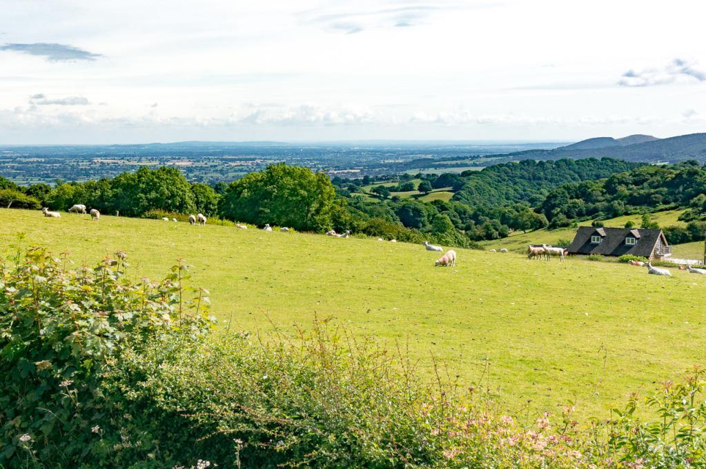 View towards Shrewsbury