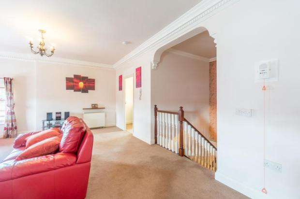 Top of stairs into Lounge