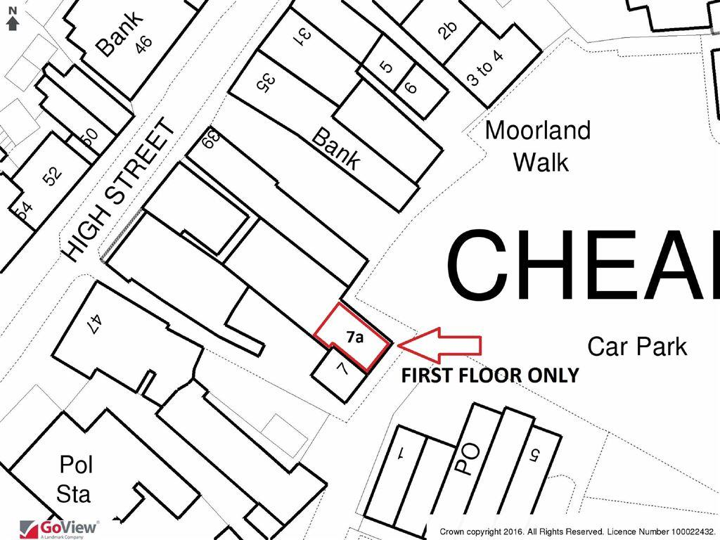 Retail property high street to rent in cheadle shopping for 116 john street floor plan