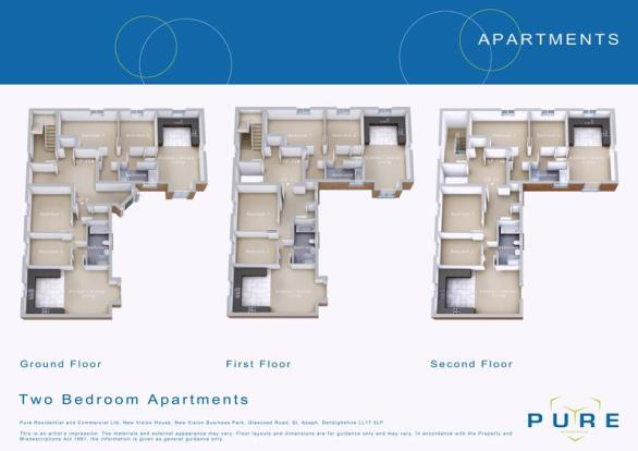 2 Bedroom Apartment For Sale In Plot 14 Llys Chatsworth