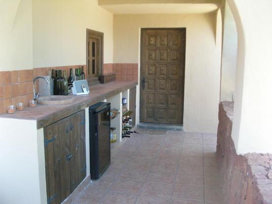 Outside Kitchen