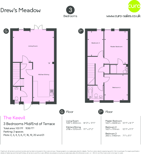 The Keevil Floorplan