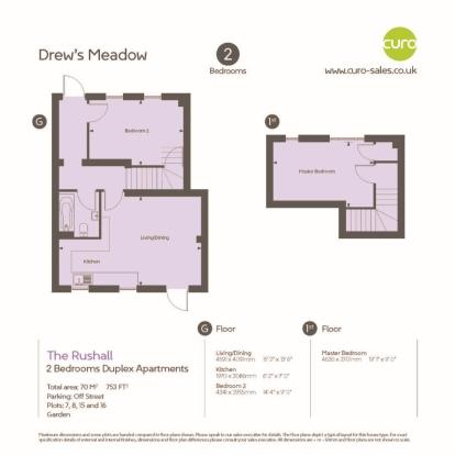 Rushall -Floor plan