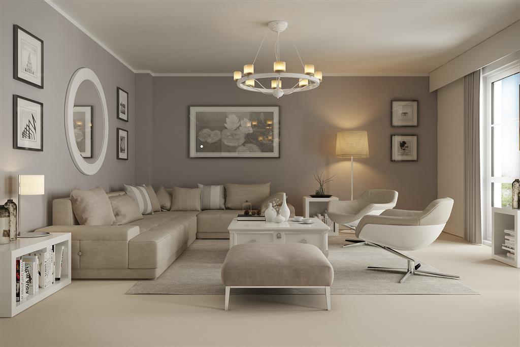 Artists impression of a typical Elizabeth Mews home