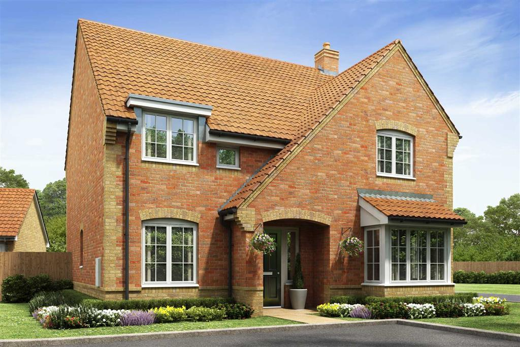 Artists impression of a typical Welford home