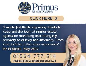 Get brand editions for Primus Estate Agents, Dorridge