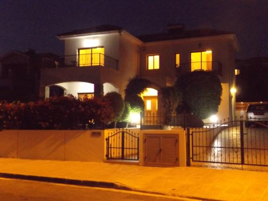 Front Night View