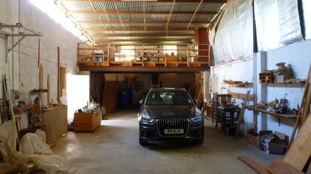 Huge garage/workshop