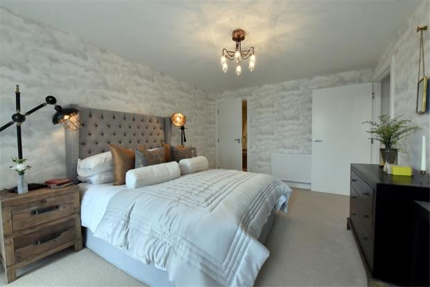 Bedroom in another development by Greensquare